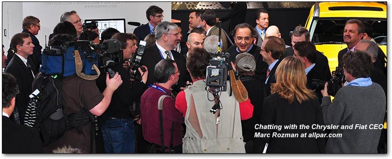 chrysler ceo sergio marchionne in scrum