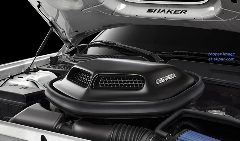 shaker air scoop