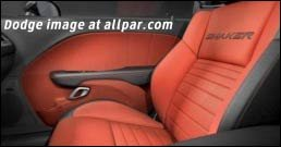 2015 Dodge Challenger Shaker package seats