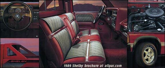 1989 Shelby Dakota