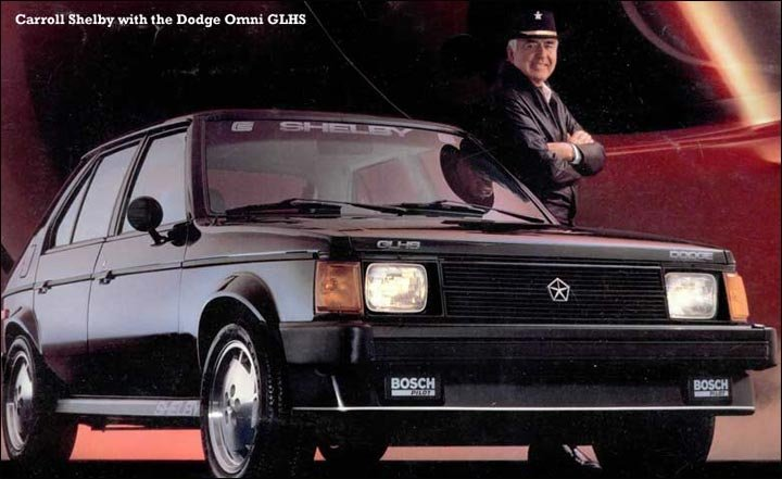The Dodge Omni GLH, Dodge Omni GLHS, and Dodge Charger GLH-S