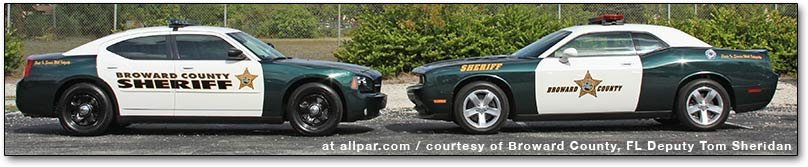 Broward County sheriff cars