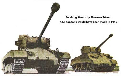 Chrysler Builds Sherman Pershing And M3 Tanks For The