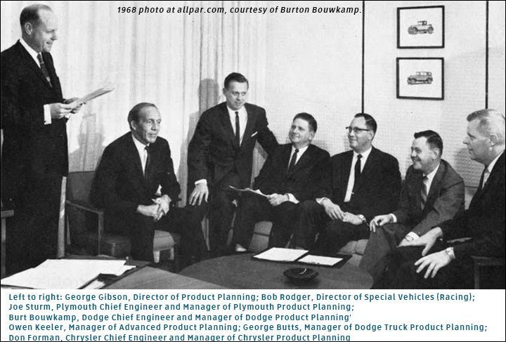 Superbirds at Chryslers at Carlisle
