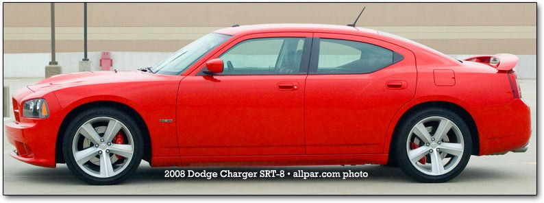 side view - charger SRT8