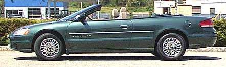2001 2006 chrysler sebring convertible refining the class leader 2001 chrysler sebring convertible side view publicscrutiny Images