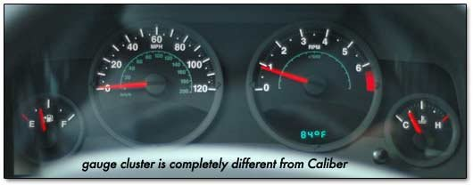 Superior Side View   2007 Jeep Compass