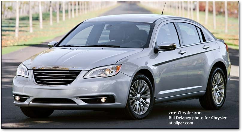 silver Chrysler 200
