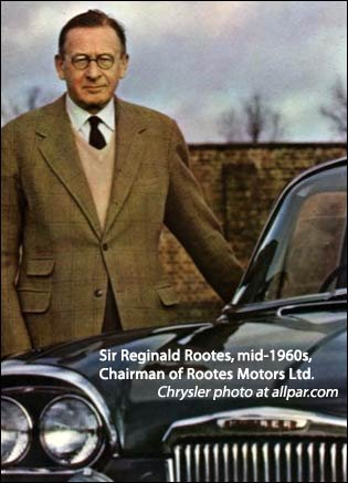 sir reginald rootes