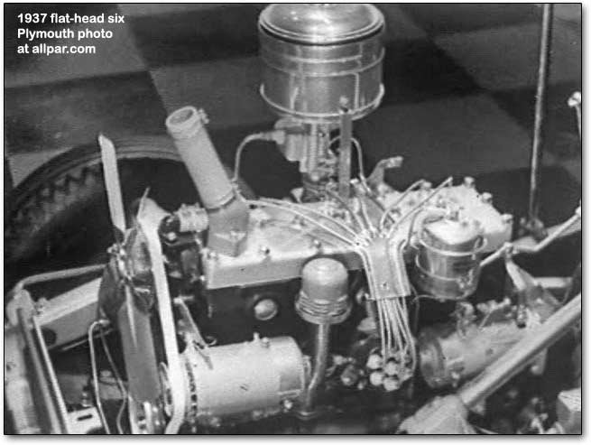 flat head engines plymouth dodge desoto chrysler six and eight Kawasaki Engine Diagrams introduced mid year, 1954, was a 110 horsepower \