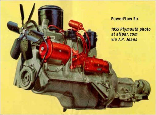 six cylinder engine