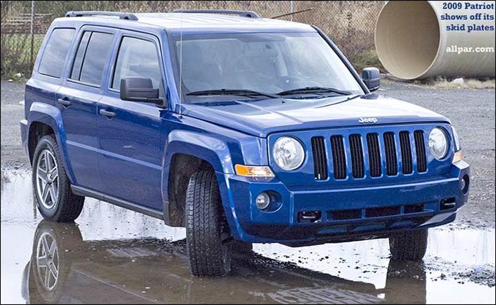 Jeep Patriot The Compact Suvs 2006 2017 Off Road Capability On