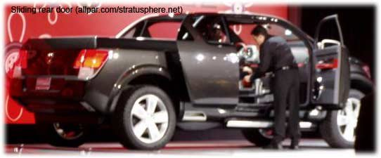 2006 Dodge Rampage Concept Cars Pickup
