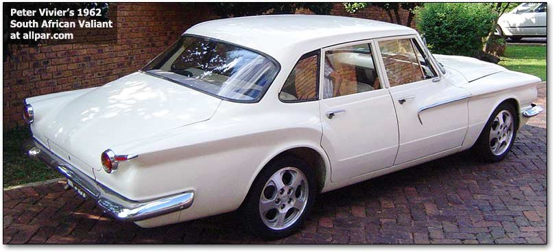1962 south african valiant (plymouth)