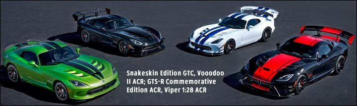 special edition 2017 dodge vipers