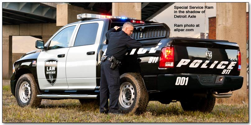 Special Service Ram for police