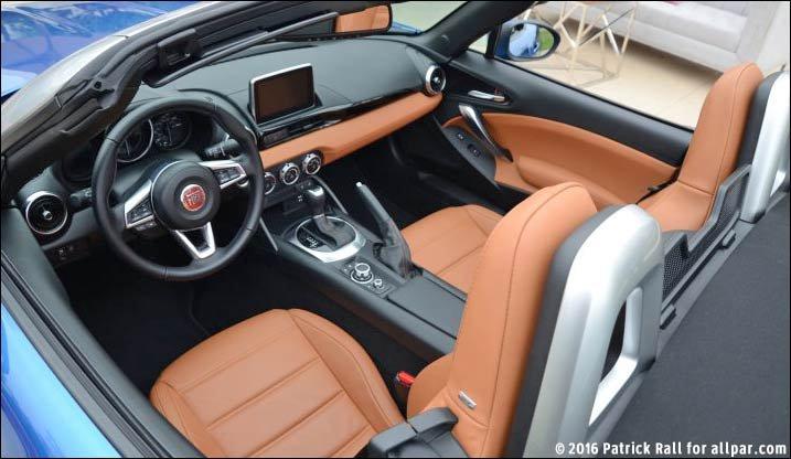 Fiat 124 Spider test