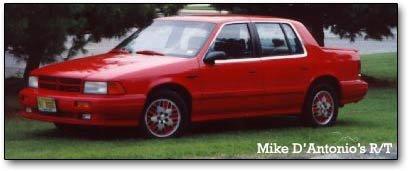 spirit rt dodge spirit r t fastest four door in america, 1991 92  at soozxer.org
