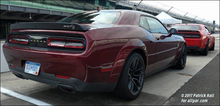 Hellcat Vs Demon >> 2018 Dodge Challenger Hellcat Widebody at the track