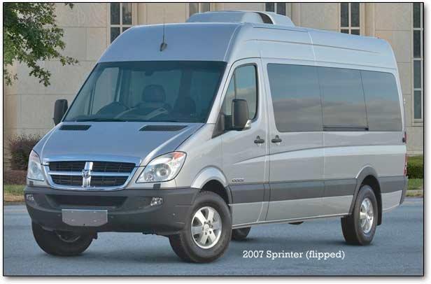 2007 dodge sprinter vans. Black Bedroom Furniture Sets. Home Design Ideas