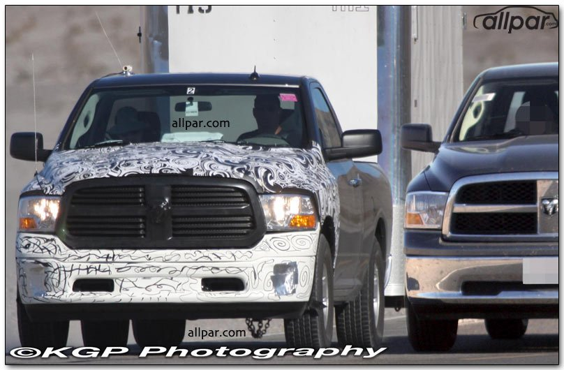 2009-2012 Dodge Ram 1500 pickup trucks: link/coil ...