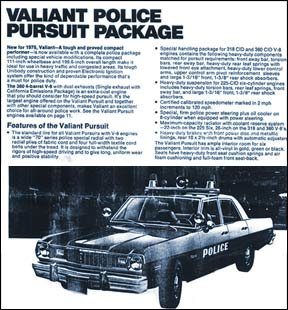 1976 Plymouth squads