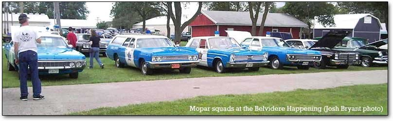 squads at the Mopar Happening