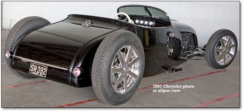 Chrysler SR 392 roadster