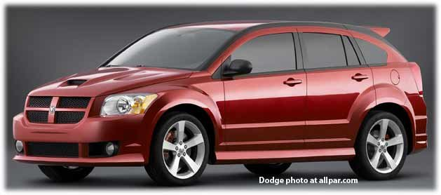 Dodge Caliber SRT-4: screaming fast hatchback