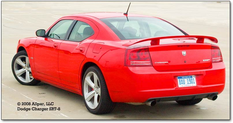 2008 Dodge Charger Srt 8 Test Drive