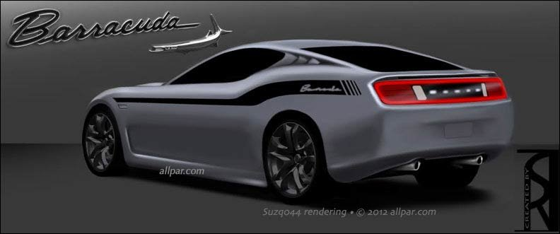 2019 Dodge Barracuda: the rumored muscle car