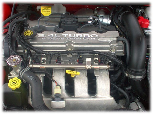 motor turbocargado Dodge SRT-4