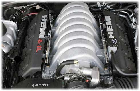 6.1 liter hemi engine for SRT-8