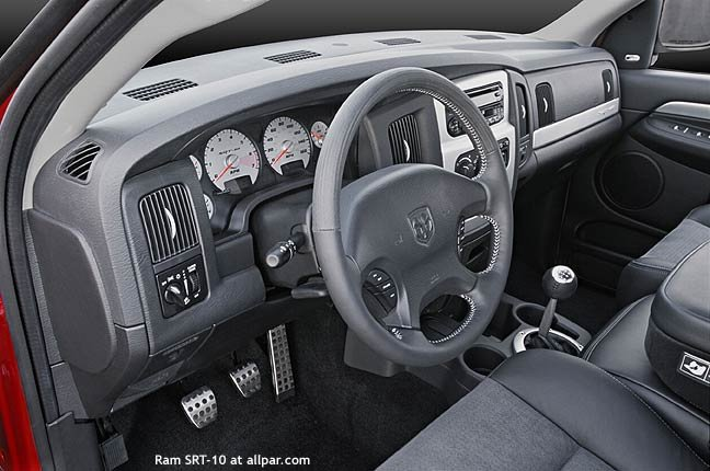 Inside the stunning Viper-powered 2004-2006 Dodge Ram SRT-10