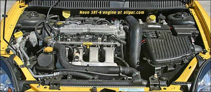 the 2 4 liter four cylinder chrysler dodge engine srt4 engine