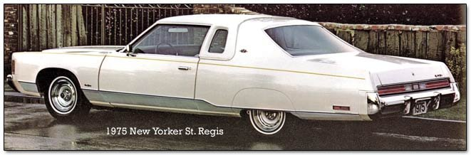 chrysler new yorker St. Regis
