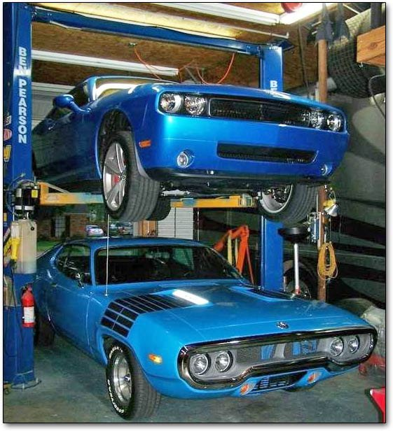 stacked Mopars
