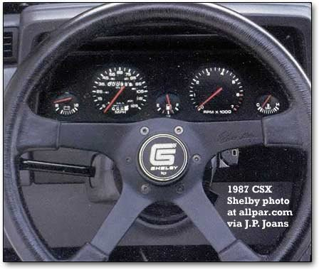 csx steering wheel/dashboard