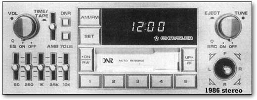 1986 stereo
