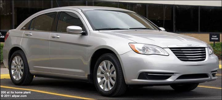 2011 Chrysler 200 Car Reviews Four Cylinder And V6 With A Nod To