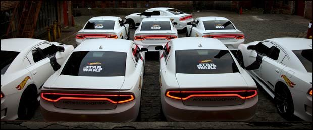 dodge charger stormtroopers for uber