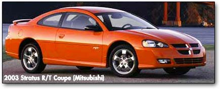 2001 Dodge Stratus Coupe