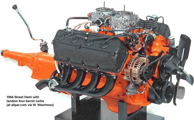 Dodge Plymouth Chrysler 426 Hemi The Elephant Engine Allpar Forums