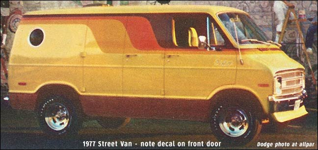Dodge B Series Vans Ram Van And Ram Wagon