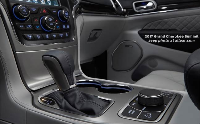 Jeep Grand Cherokee Interior Colors 2017