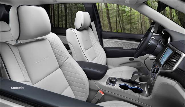summit interior 2017 jeep grand cherokee the flagship suv, upgraded  at crackthecode.co