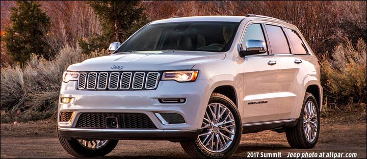 2014-2017 Jeep Grand Cherokee: the flagship Jeep luxury SUV