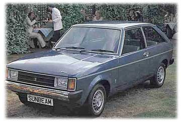 Chrysler Sunbeam photos