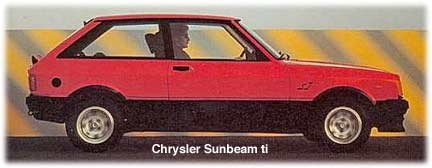 sunbeam ti cars