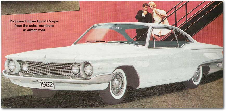 1962 Plymouth Fury super sport coupe